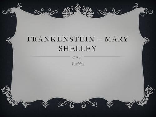 Frankenstein Revision Lesson Essay Focus By Misssk Teaching