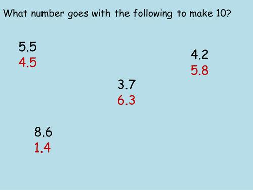 Add subtract decimals powerpoint by jamespolansky - Teaching ...