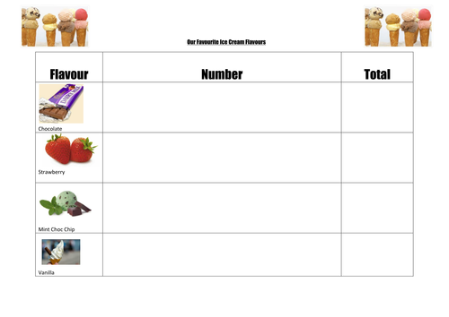 Tally chart  pictogram pictures     Venn       Diagram    by Haggettj   Teaching Resources