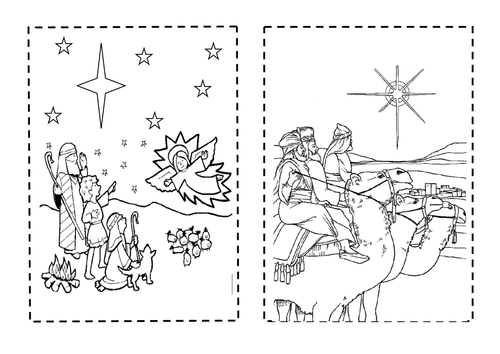 christmas story sequencing booklet by steademan teaching resources