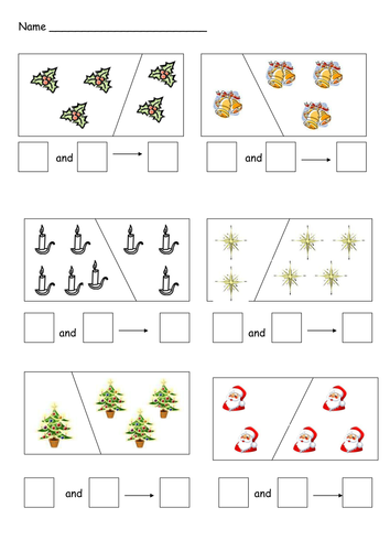 christmas addition and subtraction by cariad2 teaching resources. Black Bedroom Furniture Sets. Home Design Ideas