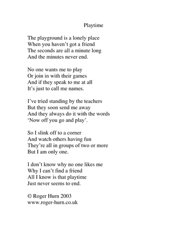 Playtime | Teaching Resources