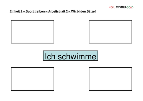 High school German resources: sports