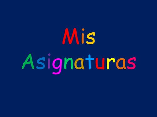 Mis Asignaturas