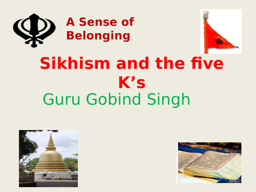 Sikhism: The Five K's of the Sikh Religion - Powerpoint ...