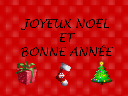 Christmas and new year in France
