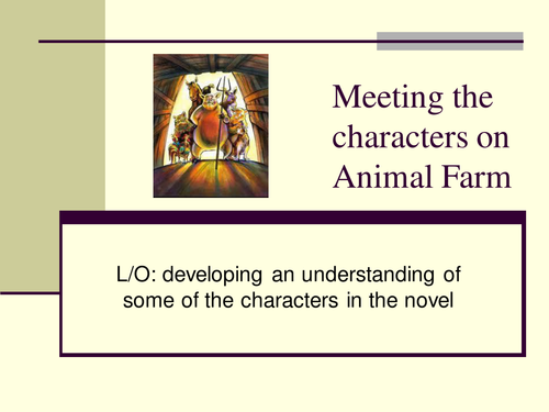 Animal Farm Chapters 4 7 By Hayleypage Teaching Resources Tes