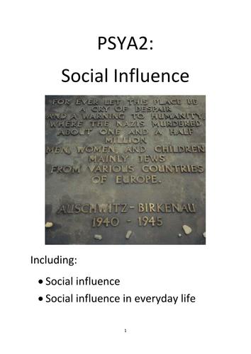 Social Psychology booklet