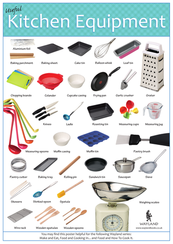 Materials Of Kitchen Utensils And Equipment