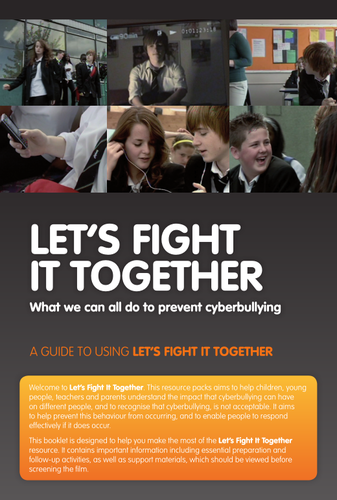 Cyber bullying- lets fight it together guide