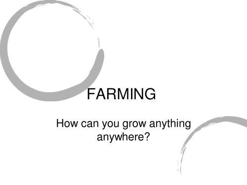 Farming in the UK
