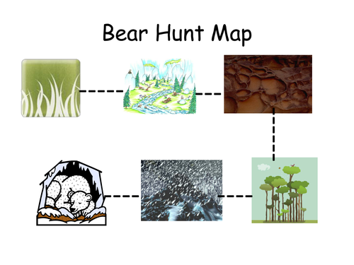 Bear Hunt Map