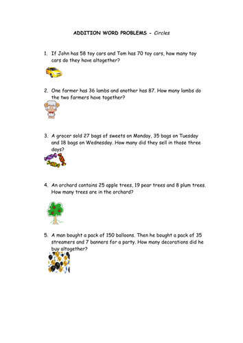 Differentiated Length Word Problems by IndiaRose26 - Teaching ...