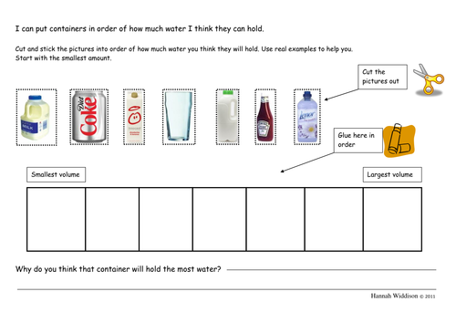 Capacity by landoflearning Teaching Resources Tes – Measuring Volume Worksheets