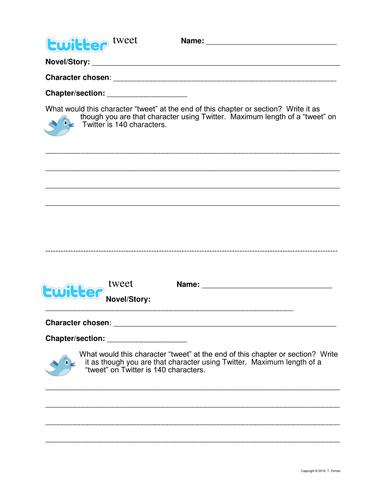 Twitter Tweet Chapter Summary