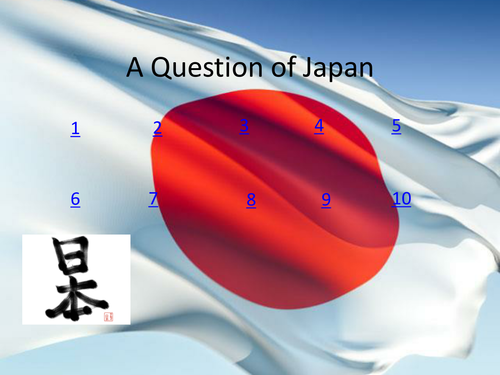 A Question of Japan