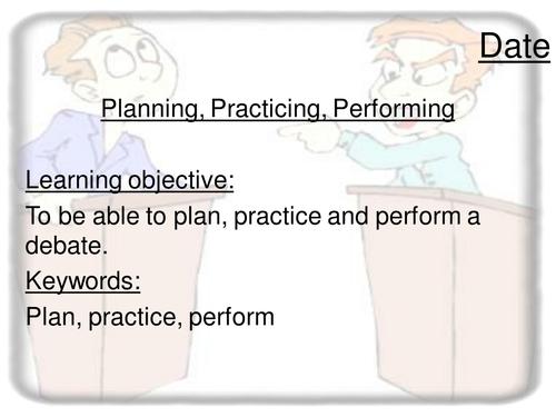 Debating Scheme
