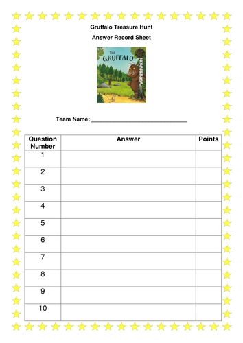 The Gruffalo Dominoes By Kayld Teaching Resources Tes