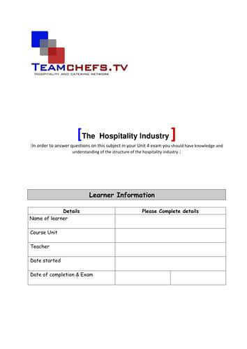WJEC Hospitality Unit 3-4 events