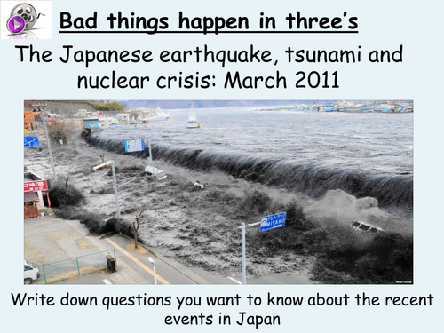 Japan earthquake, tsunami and nuclear crisis