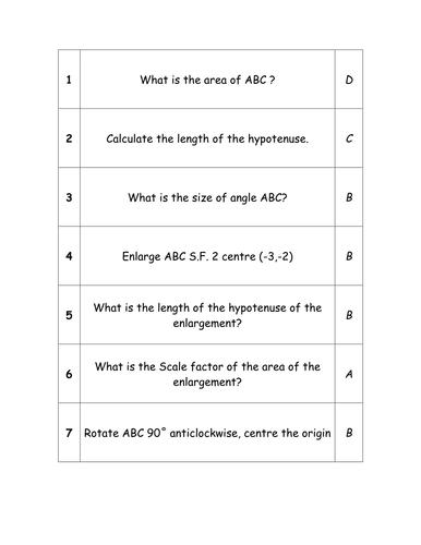 Revision Races - Revision Aid - GCSE