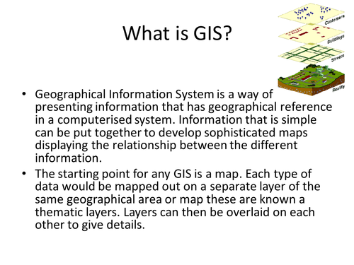 Using GIS to prepare for Tropical Storms