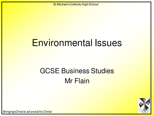 environmental issues for a research paper View this research paper on environmental issues business ethics the term business ethics has contexts in different ways making the history of business ethics.