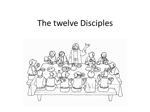 Who were the Twelve Disciples of Jesus? by elasticbandy