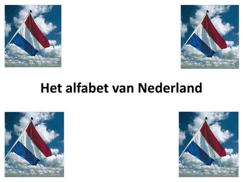 Het Alfabet Van Nederland