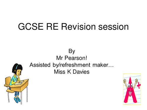 GCSE EDEXCEL revision overview