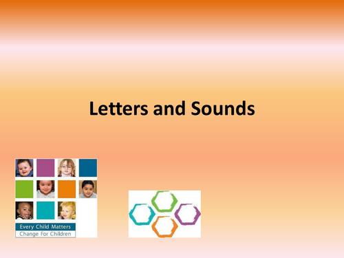 Phonics Letters and Sounds parent workshop