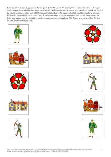 The Tudors - activity book