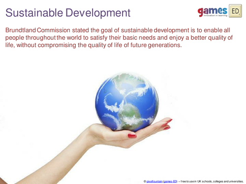 Sustainable Development Presentation