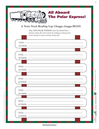 Y2 Polar Express creative week