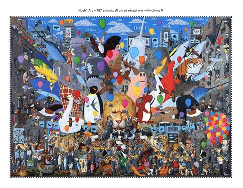 Mike Wilkes Alphabet Paintings- Vocab hunt