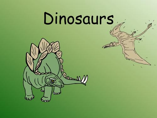 Dinosaurs mesozoic era
