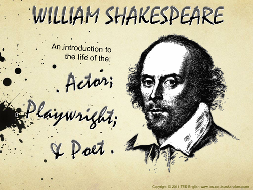life of shakespeare essay Essay on eng10 shakespeare shakespeare's life william shakespeare was arguably the most famous writer of the english language, he is known for his plays and his sonnets.