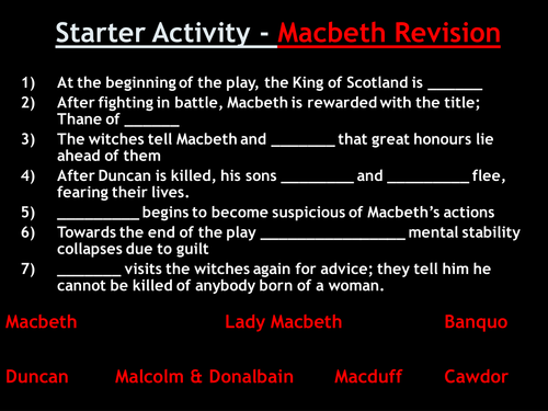 Macbeth: Introduction to Witchcraft Context Lesson
