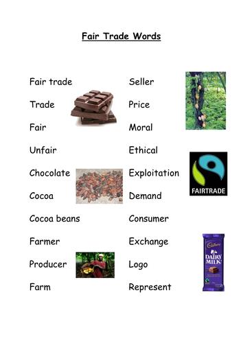 Fair Trade Key Words