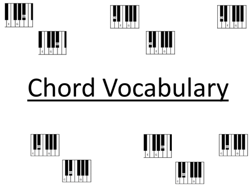 Chord Vocabulary
