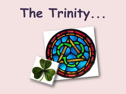 Agapegeek Teachings On The Trinity