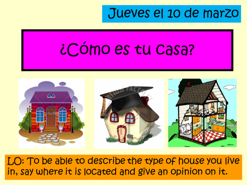 Como es tu casa by hayleyprofesora1 teaching resources for Tu casa es mi casa online
