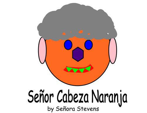 Señor Cabeza Naranja