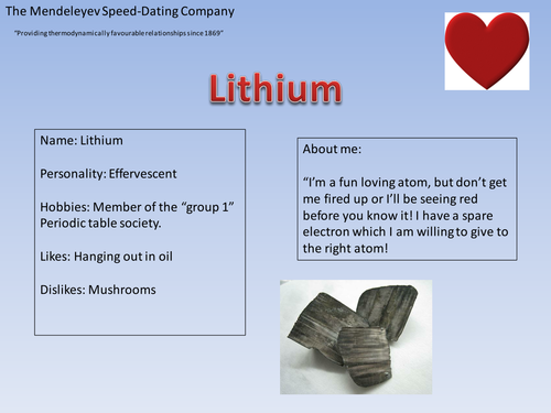 element speed dating