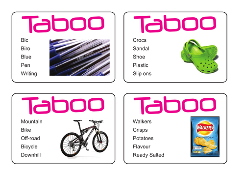 Taboo - Sustainable products?