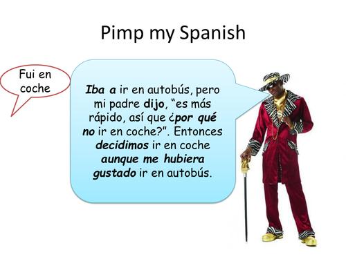 Pimp my Spanish - Improve your answers