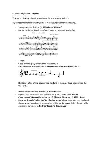 'Start Composing' Booklet