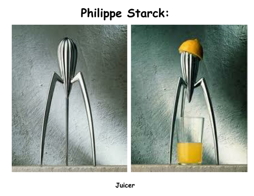 Philippe starck a collection of work by gwilly for Philippe starck work