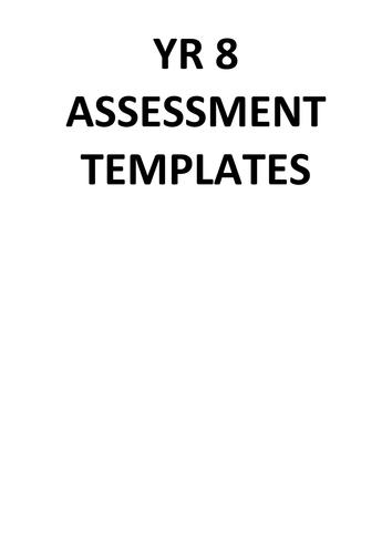 Generic assessment templates for MFL