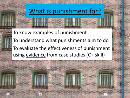 Types of Punishment